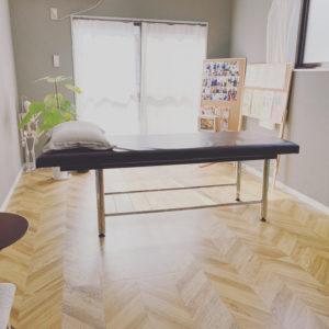 別府整体姿勢専門サロンゆのまちの施術スペースのご案内