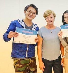 別府整体姿勢専門サロンゆのまちは海外講師の研修会にも参加しています